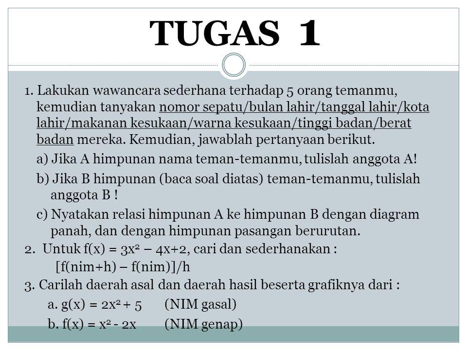 TUGAS 1