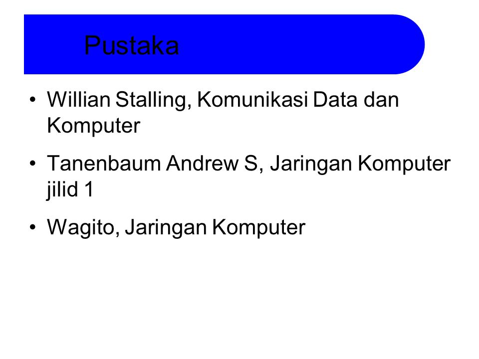 Pustaka Willian Stalling, Komunikasi Data dan Komputer