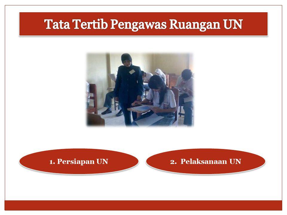 Tata Tertib Pengawas Ruangan UN