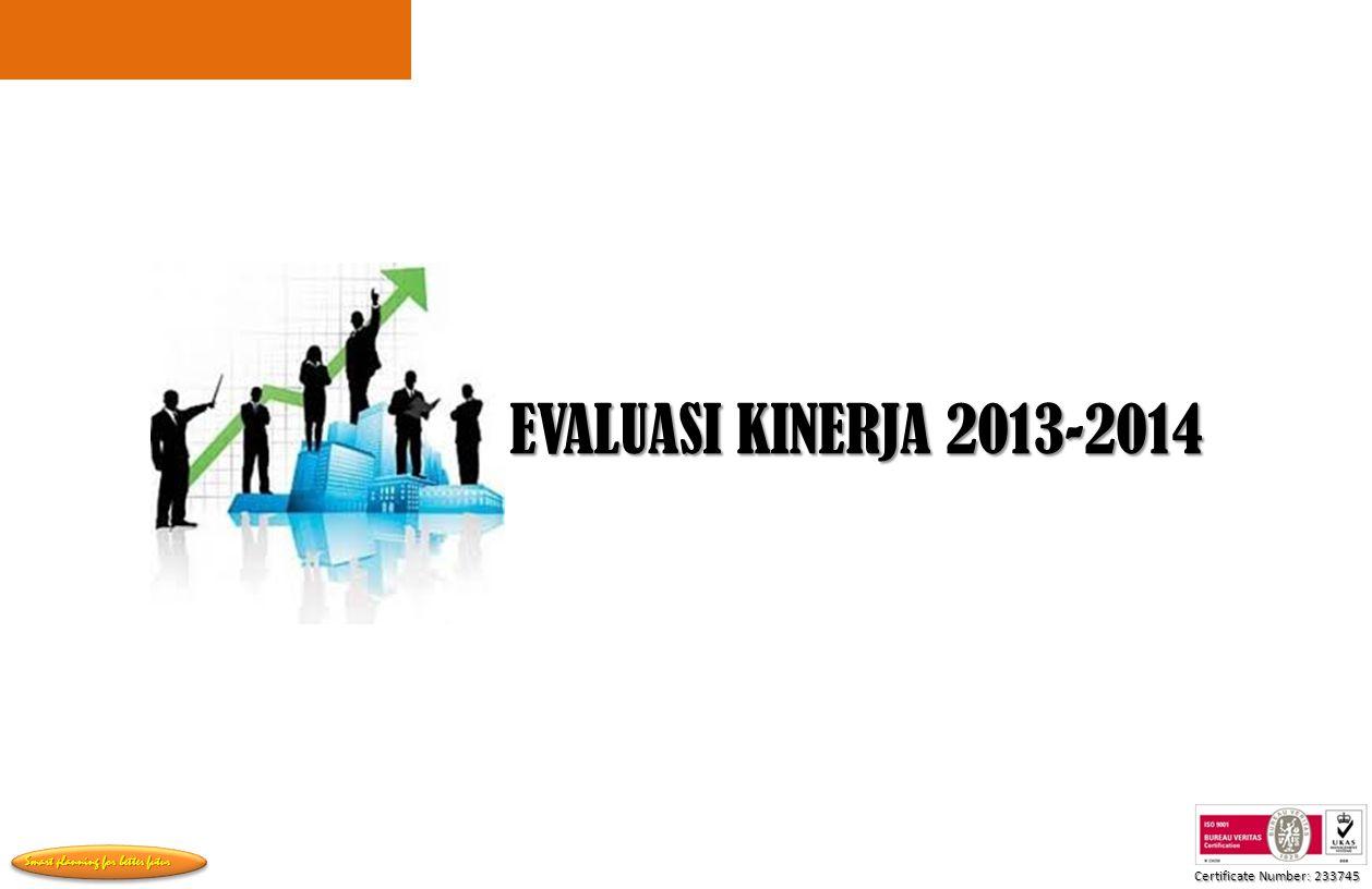 EVALUASI KINERJA 2013-2014