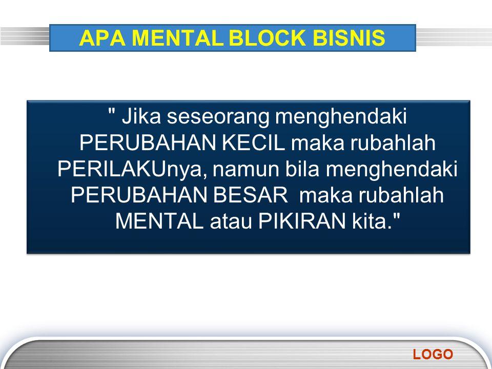 APA MENTAL BLOCK BISNIS