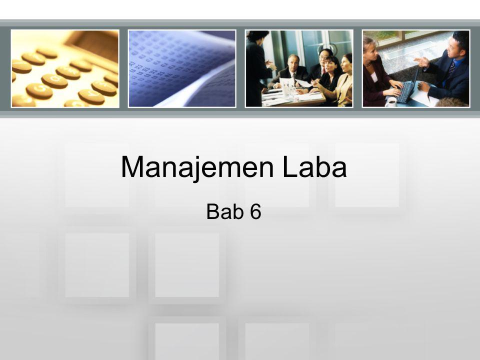 Manajemen Laba Bab 6