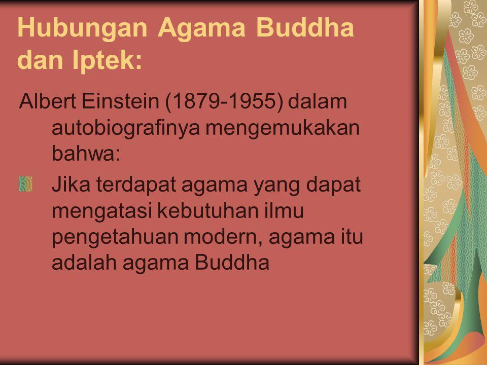 Hubungan Agama Buddha dan Iptek: