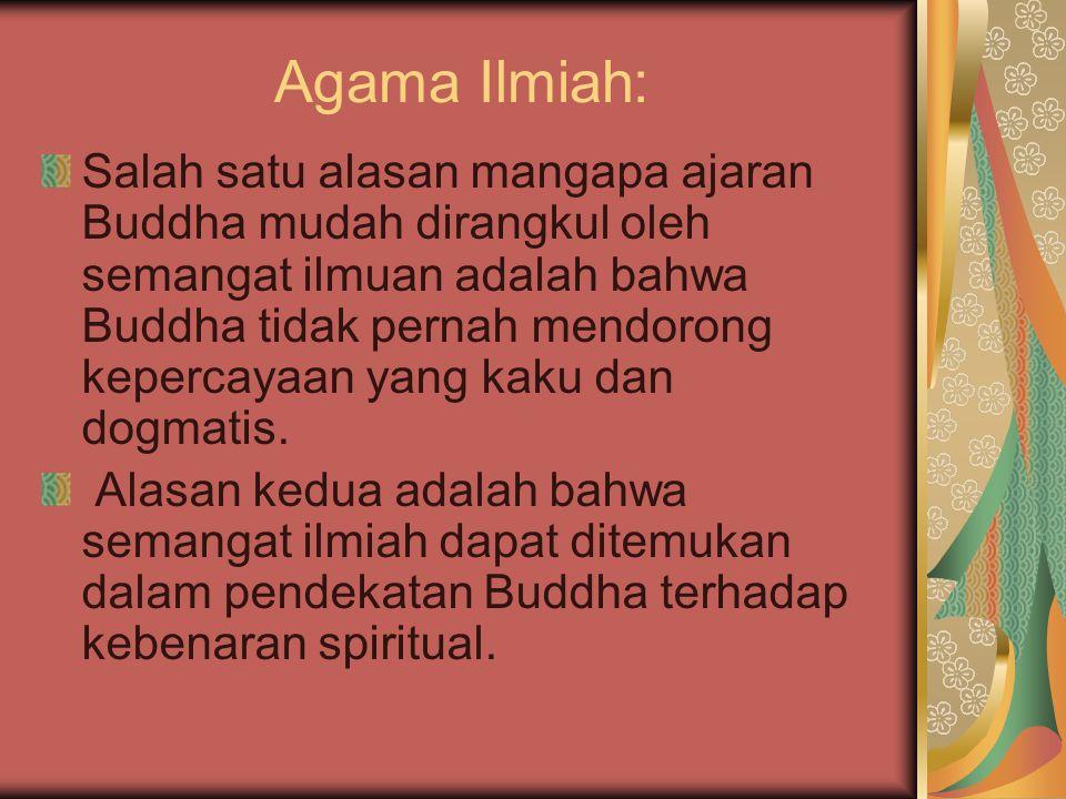 Agama Ilmiah: