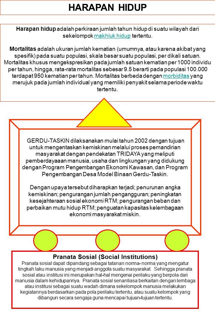 Pranata Sosial (Social Institutions)