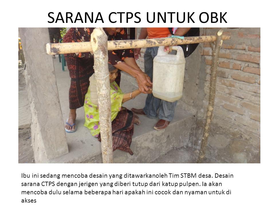 SARANA CTPS UNTUK OBK