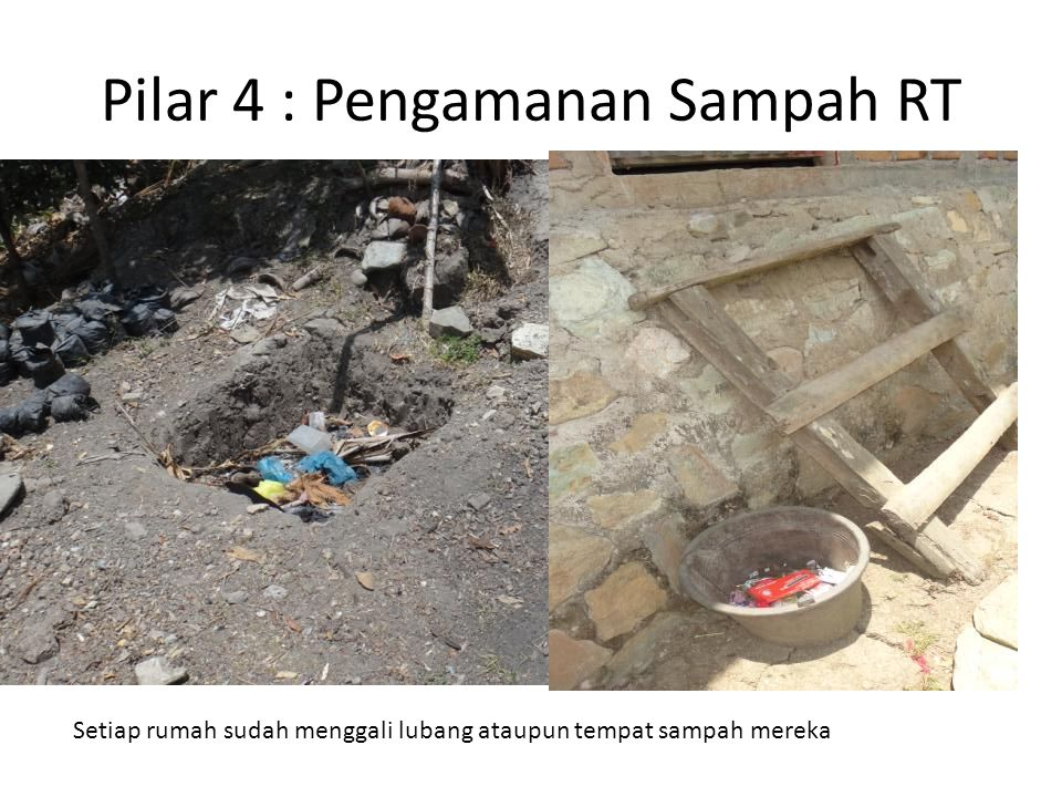 Pilar 4 : Pengamanan Sampah RT