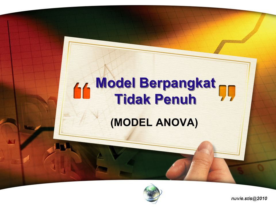 Model Berpangkat Tidak Penuh