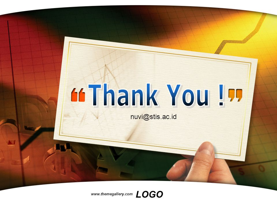 Thank You ! nuvi@stis.ac.id www.themegallery.com