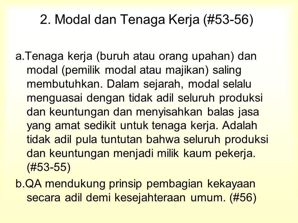 2. Modal dan Tenaga Kerja (#53-56)