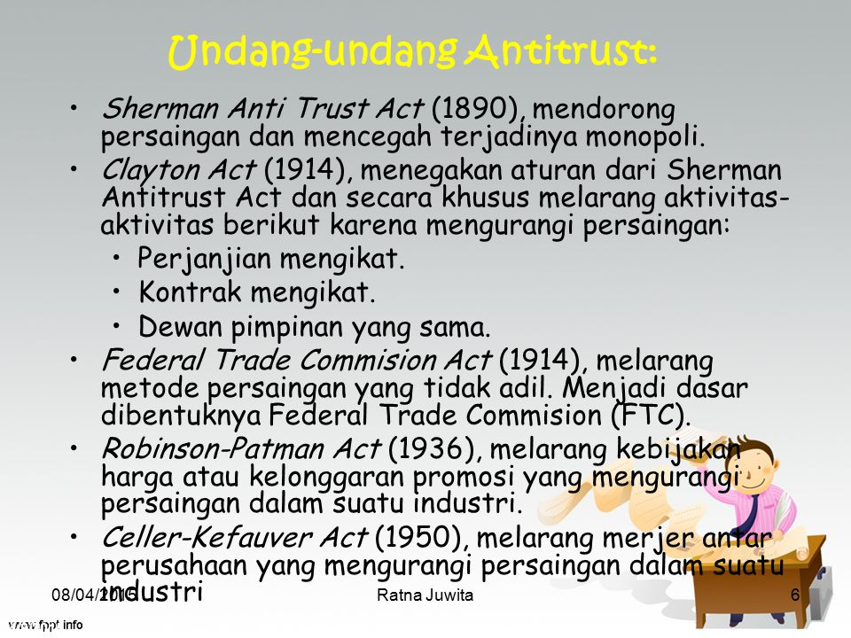 Undang-undang Antitrust: