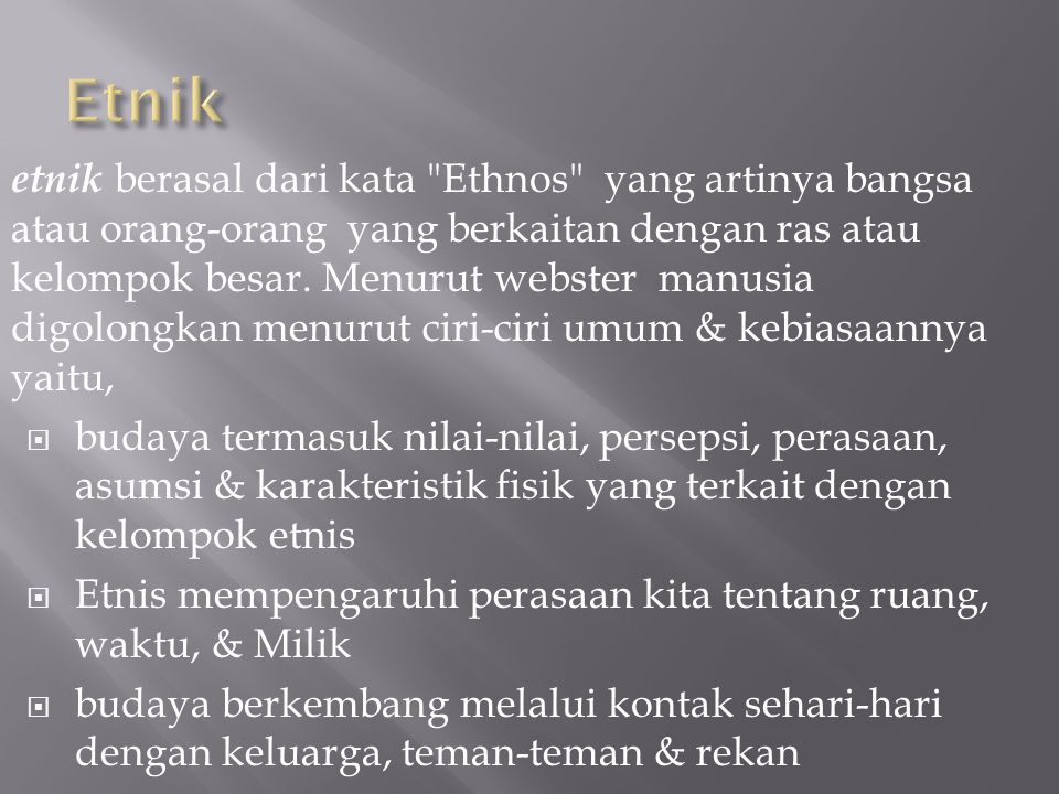 Etnik
