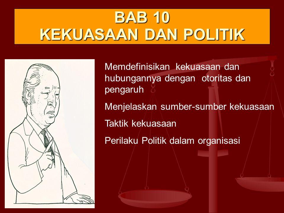 BAB 10 KEKUASAAN DAN POLITIK