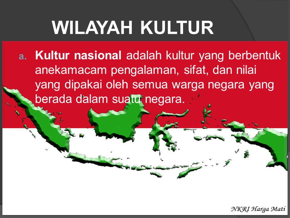 WILAYAH KULTUR