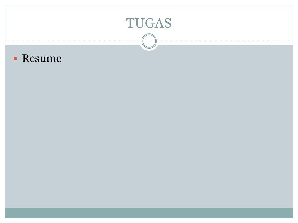 TUGAS Resume
