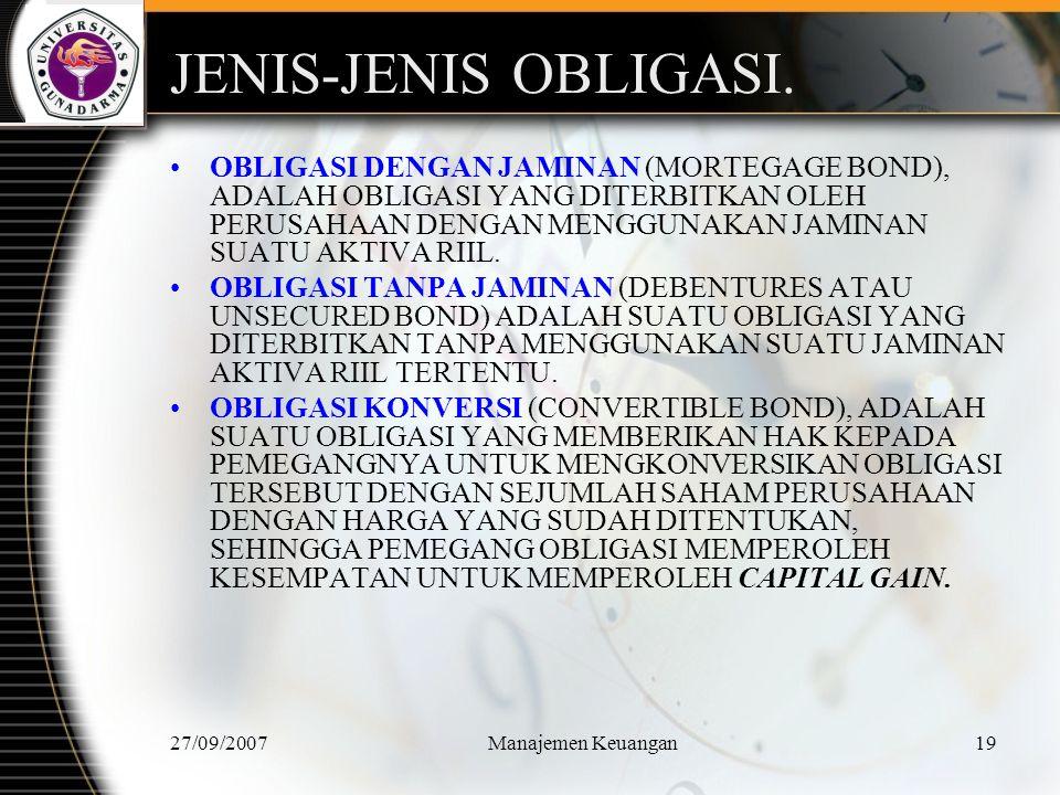 JENIS-JENIS OBLIGASI.