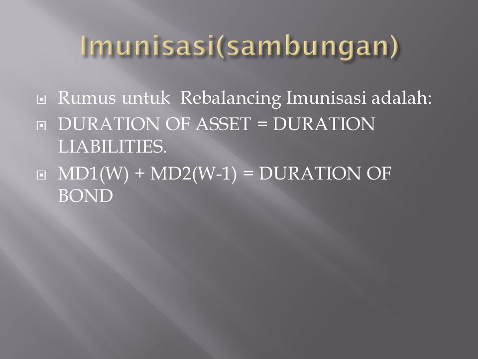 Imunisasi(sambungan)