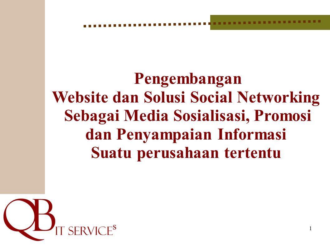 Website dan Solusi Social Networking