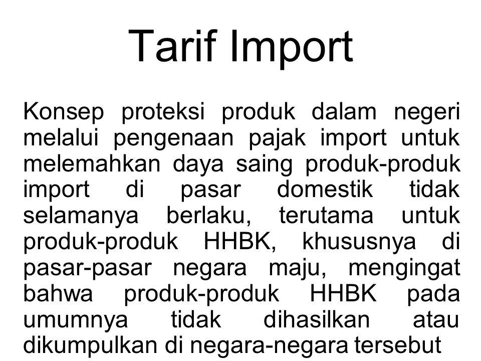 Tarif Import