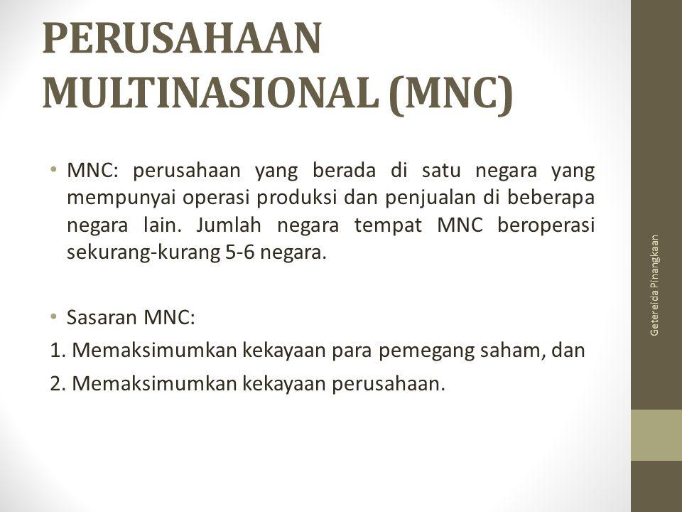 PERUSAHAAN MULTINASIONAL (MNC)