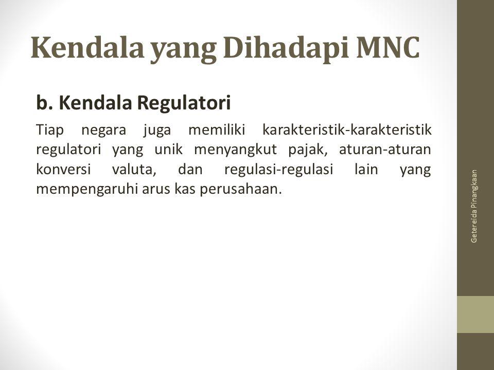 Kendala yang Dihadapi MNC
