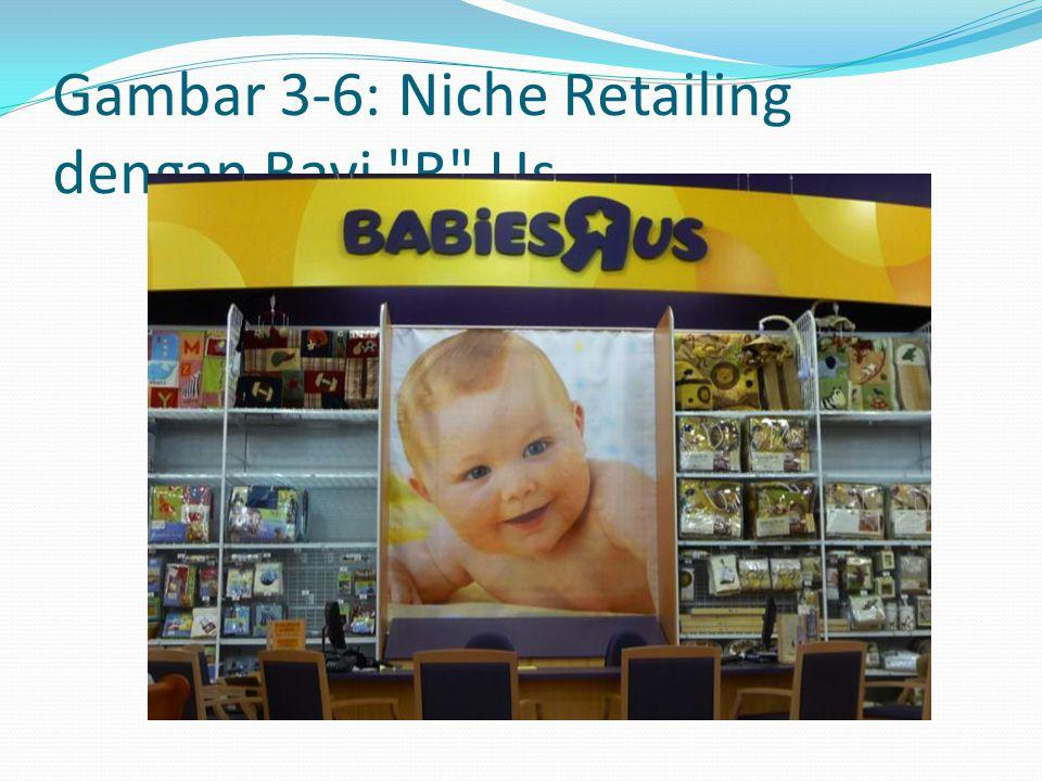 Gambar 3-6: Niche Retailing dengan Bayi R Us