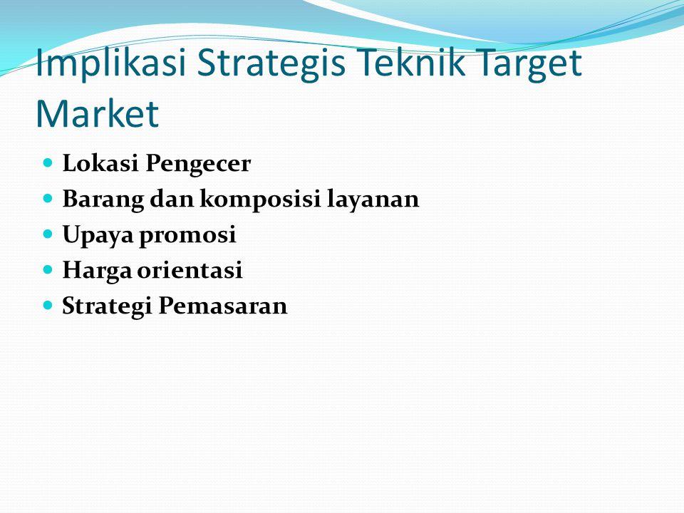 Implikasi Strategis Teknik Target Market
