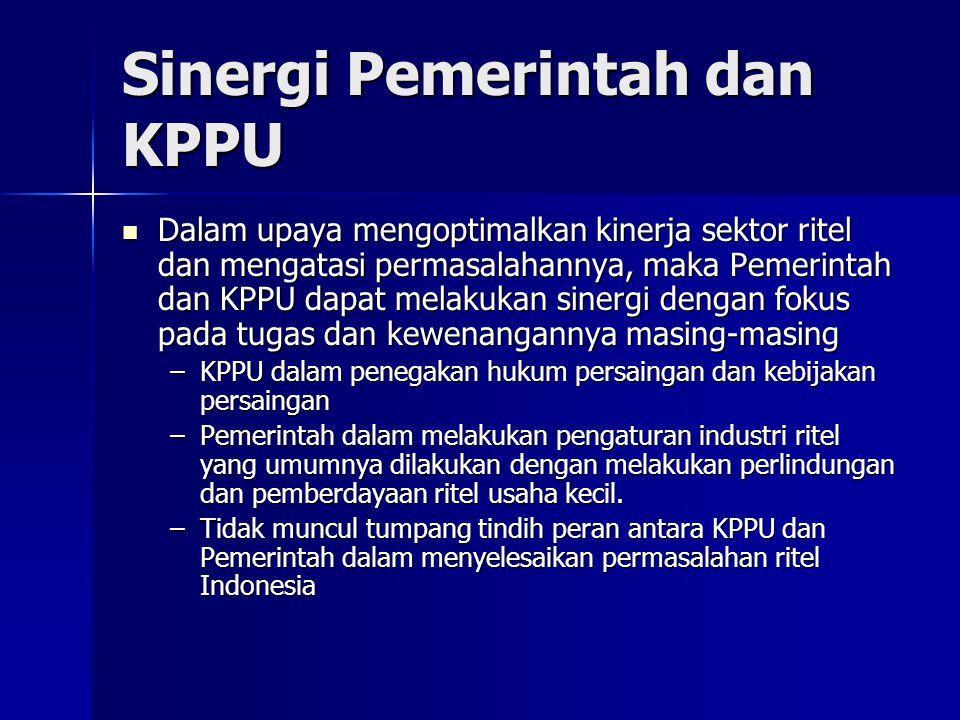 Sinergi Pemerintah dan KPPU