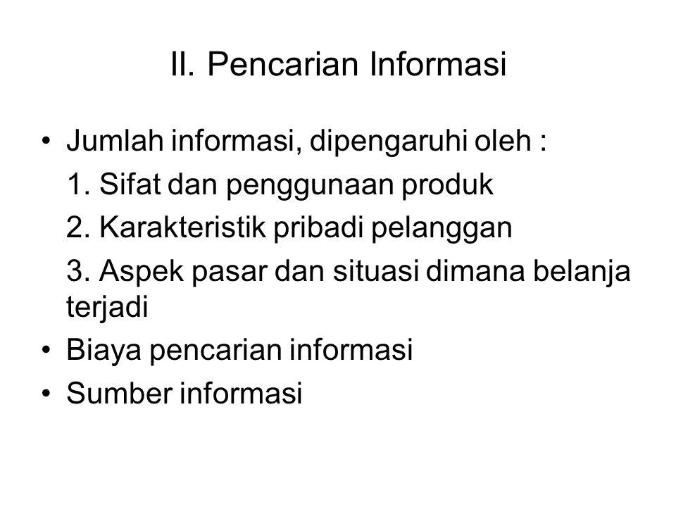 II. Pencarian Informasi
