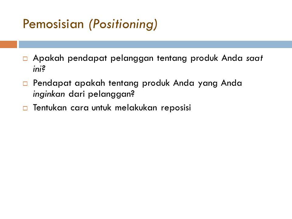 Pemosisian (Positioning)