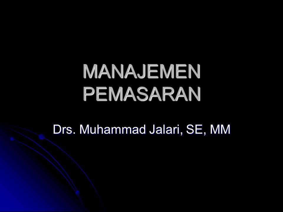 Drs. Muhammad Jalari, SE, MM