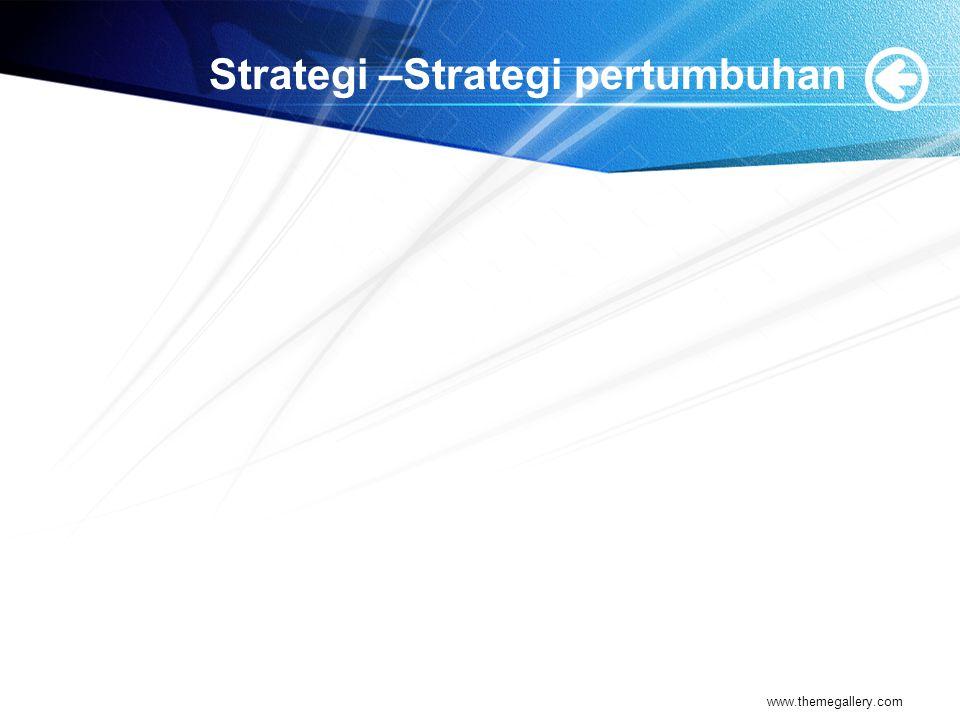 Strategi –Strategi pertumbuhan