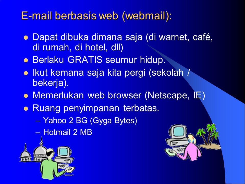 E-mail berbasis web (webmail):