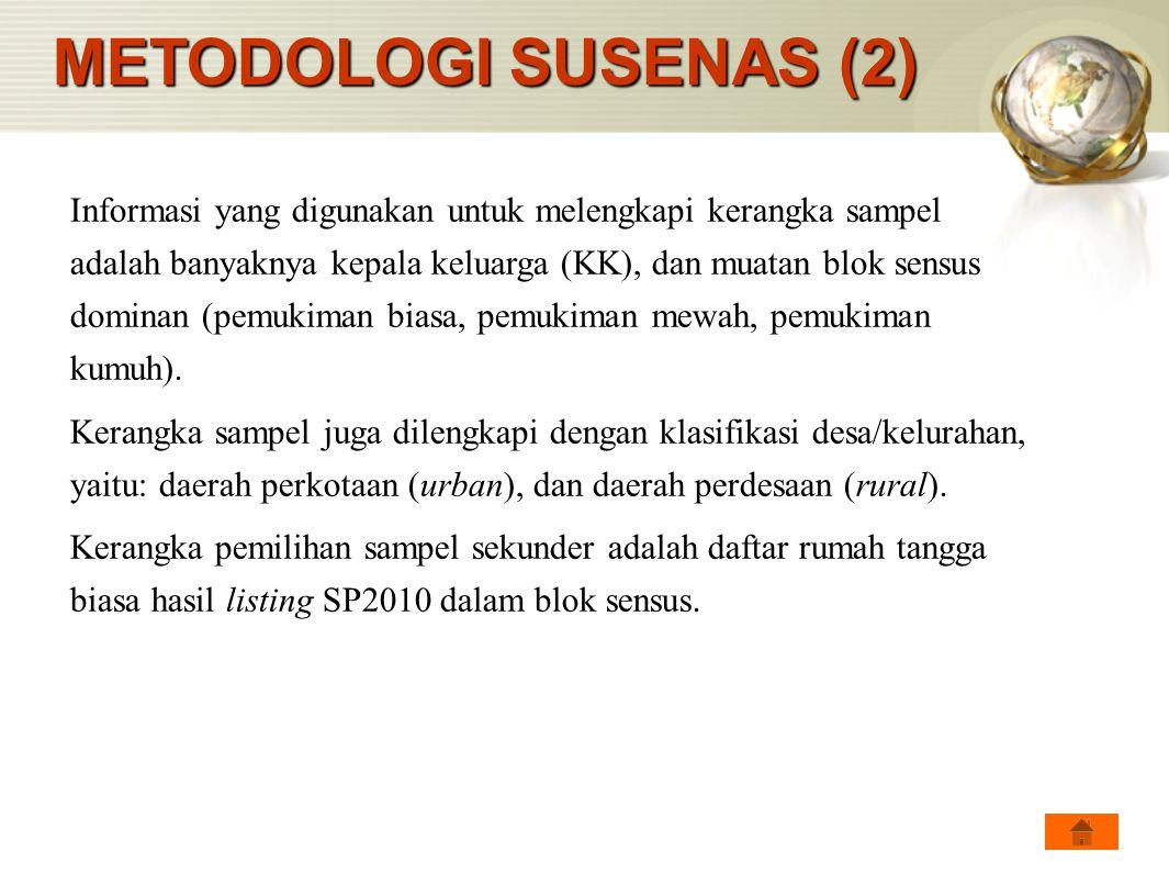 METODOLOGI SUSENAS (2)