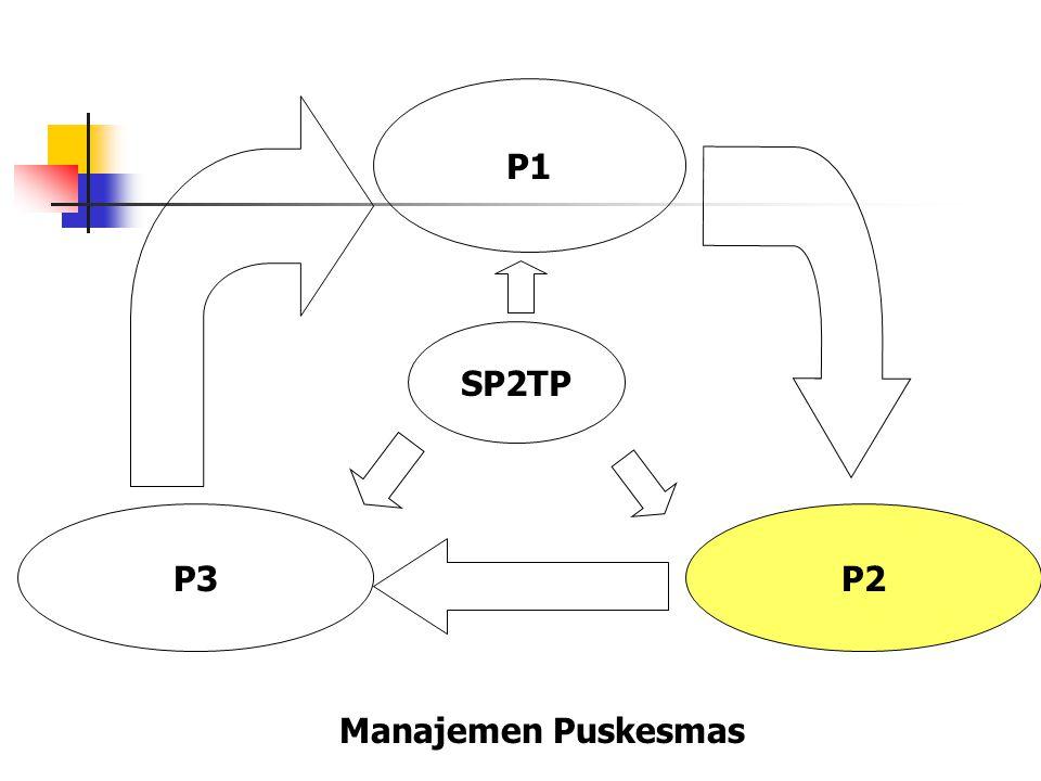 P1 SP2TP P3 P2 Manajemen Puskesmas