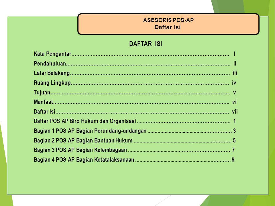 DAFTAR ISI Daftar Isi Kata Pengantar…………………………………………………………………………………… I