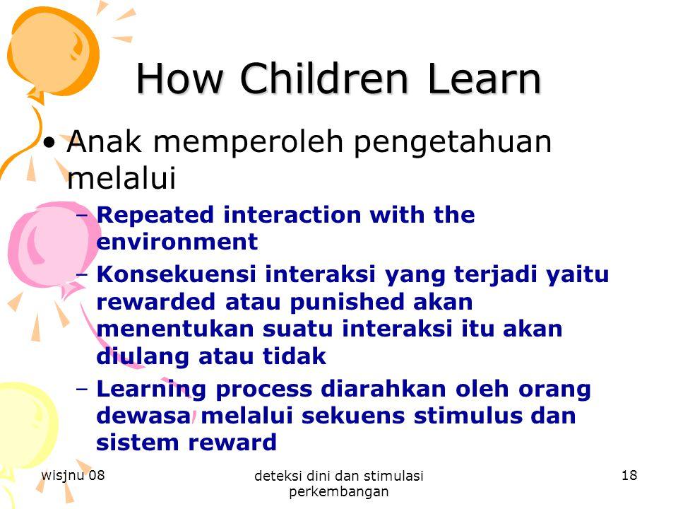deteksi dini dan stimulasi perkembangan