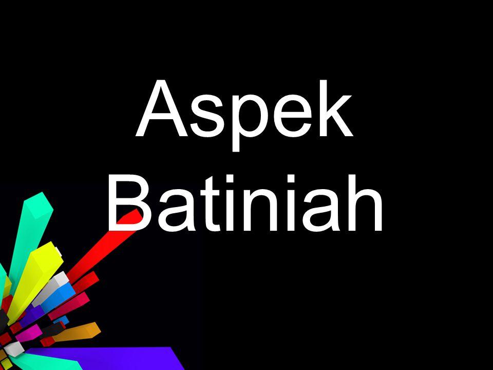 Aspek Batiniah