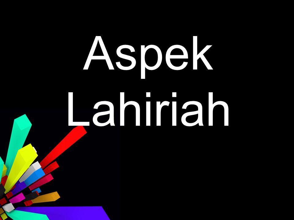 Aspek Lahiriah