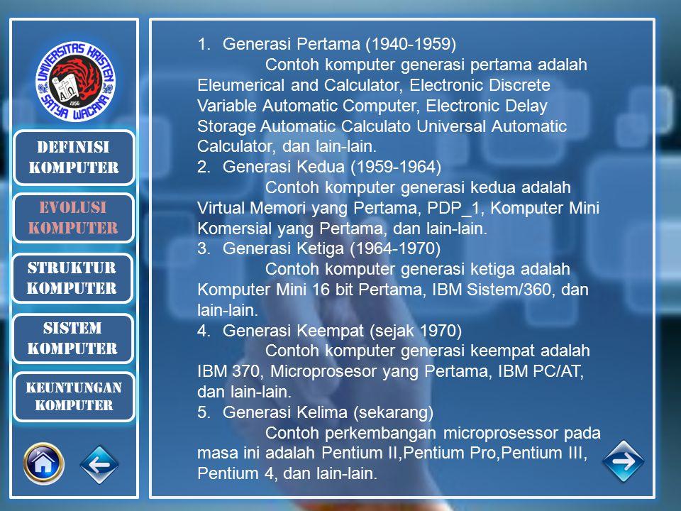 Generasi Keempat (sejak 1970)