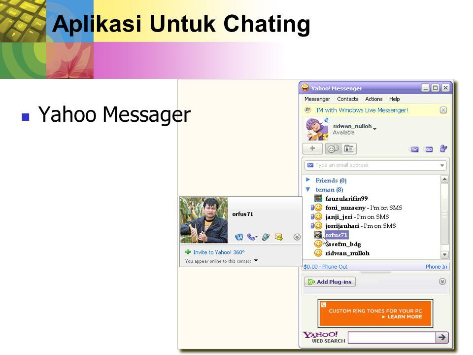 Aplikasi Untuk Chating