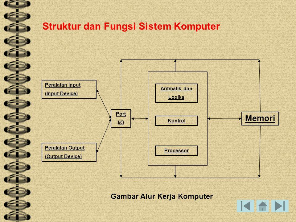 Struktur dan Fungsi Sistem Komputer