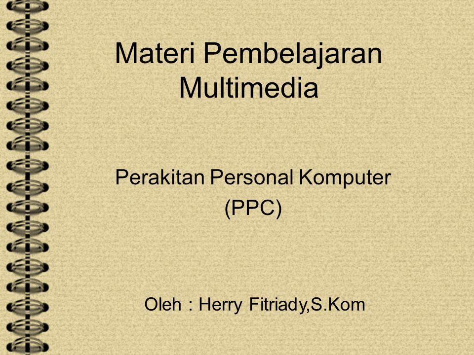 Materi Pembelajaran Multimedia