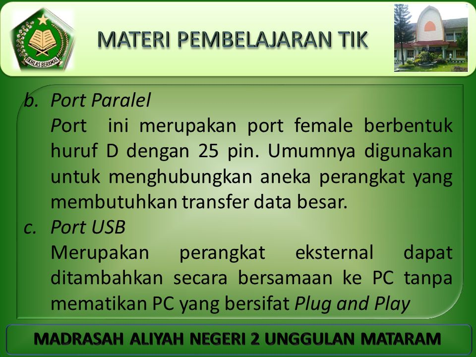 Port Paralel