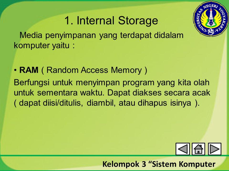 1. Internal Storage