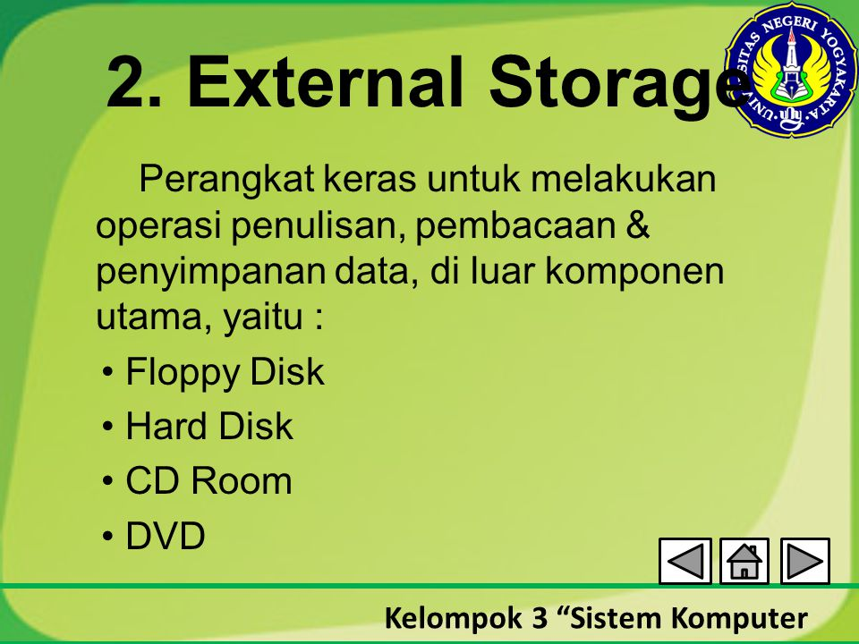 2. External Storage