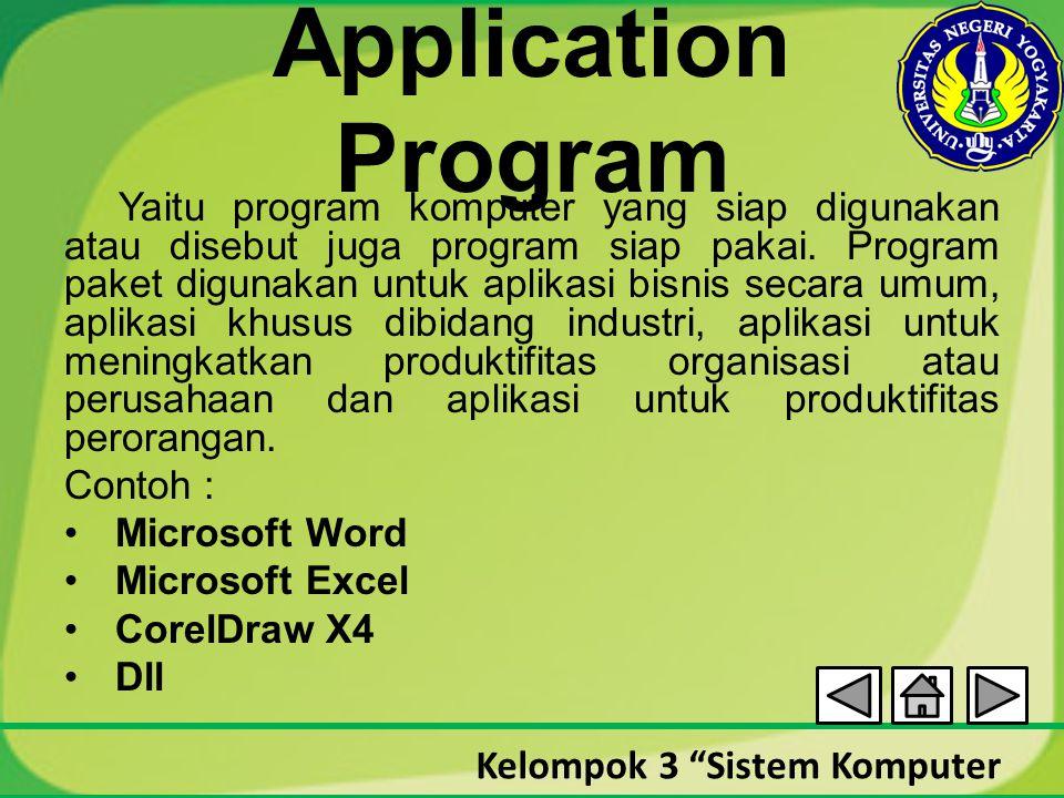 Application Program