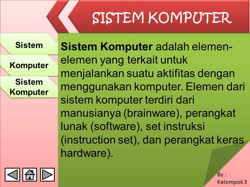 10/04/2017 SISTEM KOMPUTER. Sistem.