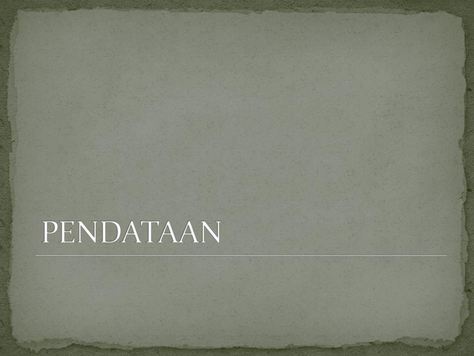 PENDATAAN