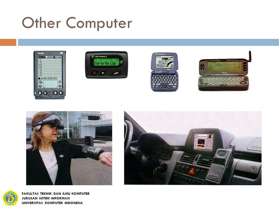 Other Computer FAKULTAS TEKNIK DAN ILMU KOMPUTER